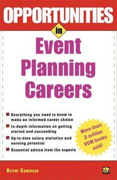 Opportunities In Event Planning Careers