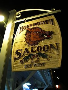 Hogs Breath Key West. I cant wait to go back to key west, really hoped we could go there on a 5 year anniversary.
