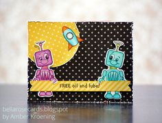 Bella Rose Cards: Peachy Keen Stamps After-Party Challenges