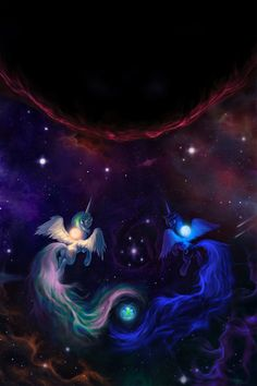 My Little Pony Drawing, Mlp My Little Pony, My Little Pony Friendship, Princesa Celestia, Celestia And Luna, Nightmare Moon, Little Poni, Mlp Fan Art, Imagenes My Little Pony