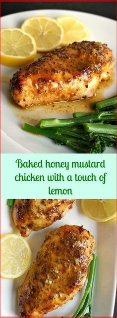 Baked Honey Mustard Chicken With a Touch Of Lemon | Special Cuisine Recipes