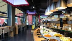 Tibits, Restaurants The West End - Tibits is an amalgamation of healthy eating. Vegetarian