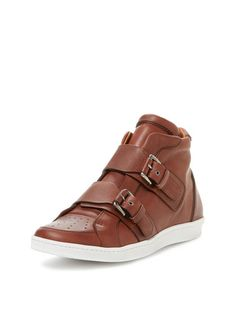 Cooljerk Leather High Top Sneaker by DSquared2 at Gilt