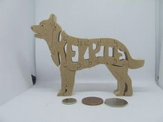 Made from MDF 10cm high 14 wide 1.8cm deep a unique ornament for pet lovers an ideal gift has small parts not suitable as a toy indoor use only