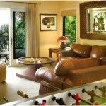 Bring A Hint Of Playfulness To The Living Room Adorable House In Modern Decoration Style Engaging Ocean View