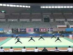 Men's Rhythmic Gymnastics  the ripple at 2:04 was freaking awesome! watch the entire thing