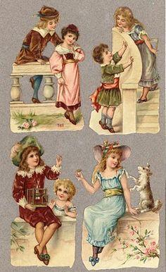 niños victorianos
