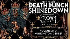 Toledo OH! It's your turn to see #Shinedown #5FDP #SixxAM and #AsLions at Huntington Center! Who's going to the show?! Show info: http://ift.tt/2fV7HES   via Instagram http://ift.tt/2fL05as  Shinedown Zach Myers