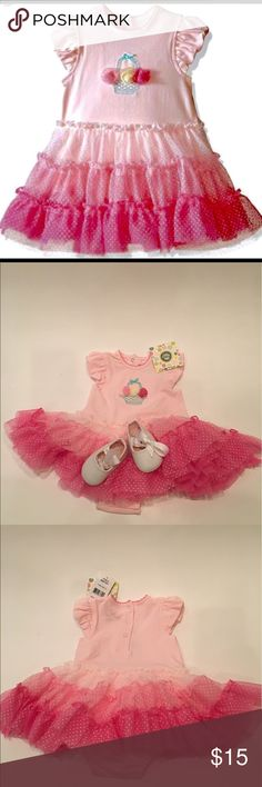 Little Me Girls One Piece Pink  Tutu Outfit 3 M NWT from pet free smoke free home 🏡 Little Me One Pieces Bodysuits