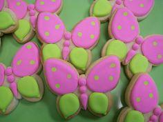 Simple Butterfly Cookies by Brenda's Cakes - Ohio, via Flickr