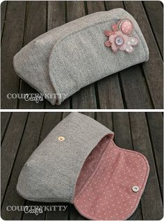 pochette tweed e pink by countrykitty, via Flickr