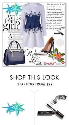 """""""Beautiful dress"""" by mery66 ❤ liked on Polyvore featuring Bobbi Brown Cosmetics"""