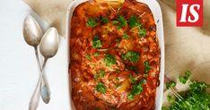Siirrymme uudelle vuosikymmenelle, joten muistellaan hetki vielä menneen vuosikymmenen hittireseptejä. Chana Masala, Lasagna, Chicken Recipes, Curry, Good Food, Pasta, Ethnic Recipes, Koti, Interesting Recipes