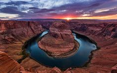 Most-Beautiful-Places-To-Visit-In-America-horseshoe-bend  - Top 23 Must See Places in the U.S.A. for 2015