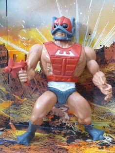 "Zodac, cosmic enforcer, from Mattel's ""Masters of the Universe"" line of action figures"