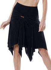 Maly Goddess Latin Dance Skirt MF151502-Black