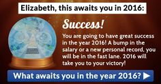 What awaits you in the year 2016?