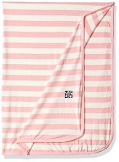 Baby Gift Bright Fuschia Muslin Swaddling Blanket w Cute Accenting burp cloth