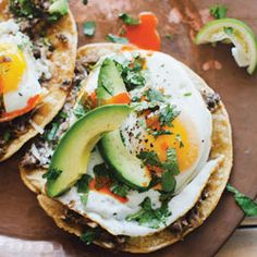 Ranchero Breakfast Tostadas. Not much better than this!
