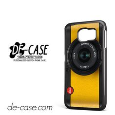 Lemon Yellow Leica Camera DEAL-6420 Samsung Phonecase Cover For Samsung Galaxy S6 / S6 Edge / S6 Edge Plus