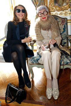 Iris Apfel Takes Paris Fashion Week | wmag.com