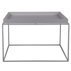 Tray table large, grey; 205 euro; 600x600x350mm Finnishdesignstore.com; Buy 2 or 3 of these for TV Area; Powder Coated Steel Frame and removable tray; Come in different colors and sizes