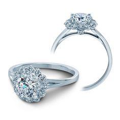 Verragio+Couture+Classico+White+Gold+Diamond+Halo+Engagement+Setting
