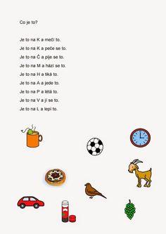 básničky pro děti - Hledat Googlem: Worksheets, Alphabet, Language, Education, Comics, Learning, Logos, Dyslexia, Autism