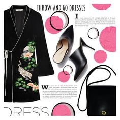 """""""Throw and Go"""" by katerin4e-d ❤ liked on Polyvore featuring RIXO London, Coach and Givenchy"""