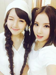 Yerin and Eunha