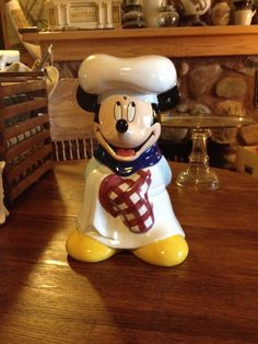 Mickey Mouse Chef Cookie Jar by Treasure Craft
