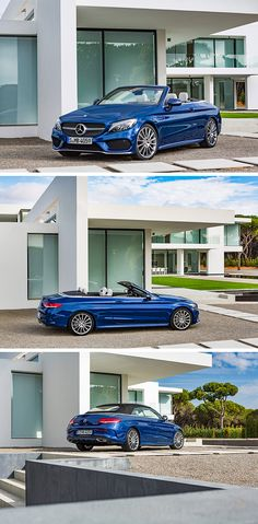Mercedes-Benz is launching into the open-air season with the first cabriolet based on the C-Class, thereby rounding off its range of cabriolets with a classic fabric soft top.