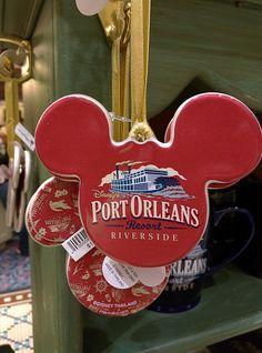 Disney's Port Orleans Riverside Ornaments