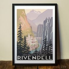 Lord of the Rings - Historic Rivendell