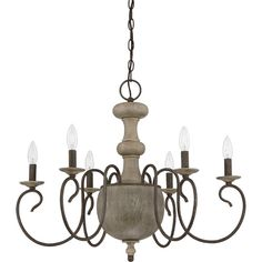 Found it at Joss & Main - Valerie 6-Light Candle-Style Chandelier