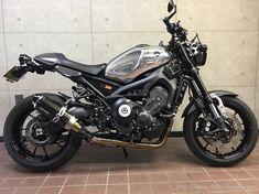 YAMAHA(ヤマハ)XSR900 外装カスタム   MOTO-EXRIDE works 2015-/モトエクスライド カスタムファイル2015- Trike Motorcycle, Moto Bike, Motorcycle Design, Yamaha Bikes, Cool Motorcycles, Cafe Racer, Moto Style, Honda Cb, Super Bikes