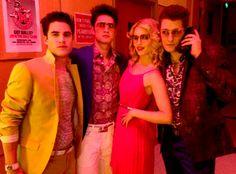Dianna Agron, Matthew Morrison, Darren Criss and Harry Shum Jr. Glee Season 5, Film Anime, Quinn Fabray, Glee Club, Chris Colfer, Dianna Agron, Cory Monteith, Lea Michele, Orange Is The New Black