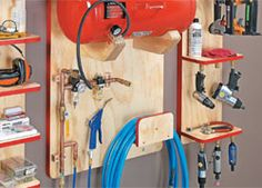 ShopNotes Magazine - Sources - Air Tool Station