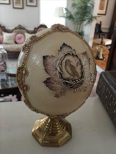 Ostrich Egg by Dawn Morehead