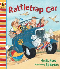 """Buy Rattletrap Car Big Book by Phyllis Root at Mighty Ape NZ. """"Here's a happy story hour choice. A picture book that passes the fun test with flying fizz."""" -- Booklist It's hot, hot, hot! So Junie and Jake . Transportation Theme Preschool, Fun Test, Test Prep, Book Prompts, Writing Prompts, Read Aloud Books, Alliteration, Writing Lessons, Writing Ideas"""
