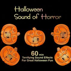 Halloween Sound of Horror CD Remix Halloween Parties, Halloween Fun, Scary Sounds, Halloween Sounds, Halloween Pictures, Album Covers, Horror, Movie Posters, Blog