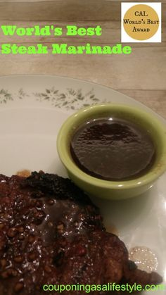 """When I say world's best….. I really mean WORLD""""S BEST!!! This marinade is so delicious that you will make it for years and years to come. I use this on any red meat. Marinade it as long as you can but I will often make it last minute and its still delicious! After grilling/cooking your...  Read more »"""