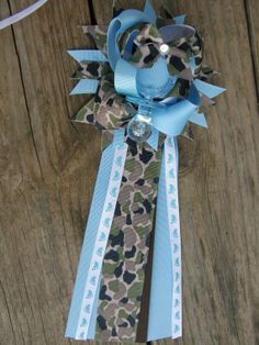 baby shower ideas for boys camo | camo baby shower corsagearmy baby mum by bonbow on Etsy, $14.99