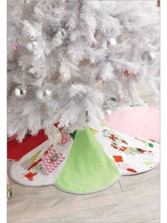 Christmas tree skirt sewing and quilting patterns