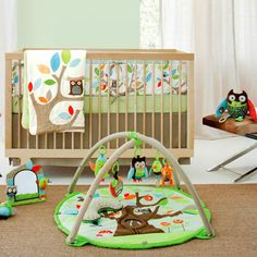 Skip Hop Treetop Friends 4 Piece Crib Bedding Set @Layla Grayce