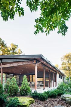 The Du Tour Residence is a project led by Architecture Open Form who renovated it for a family who'd owned the architect-designed, 1960s home for decades.