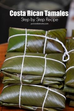 american christmas recipes Step by step instructions and ingredient list for Costa Rican Tamales. A Costa Rican recipe, Costa Rican Christmas tradition, Navidad, Christmas Recipe and quintessential world cuisine. Costa Rican Desserts, Costa Rican Food, Puerto Rican Recipes, Empanadas, Tostadas, Chorizo, Julia Childs, Enchiladas, Mexican Dinner Recipes