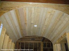 vaulted greatroom images | Two Distinctive Barrel Vaulted Ceilings - The Fun Times Guide to Home ...