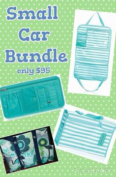 A great way to organize your car thanks to Thirty One check out the new designs and prints!