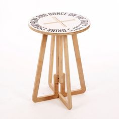 Champagne Printed Table – Black & White from Colour-Pop Tables. Cite for the bar/pool area.
